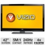 Vizio M3D420SR 42 Class Edge Lit Razor LED 3D HDTV - 1080p 240Hz 5000000:1 Dynamic 8 ms HDMI USB Wi- Refurbished