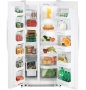 GSS20IBTWW 19.9 Cu. Ft. Refrigerator (Side-by-Side Freezer, White)