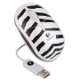Logitech 3-Button USB Optical Scroll Wheel Zebra Mouse