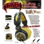 iHip MVF10264IM Marvel Iron Man Extreme DJ Headphone, Black/Yellow