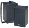 Jensen JS43 4 3-Way Indoor/Outdoor Speakers (Pair) (Black)