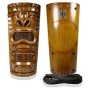 TikiToonz 320 Watt Pair 2-Way Outdoor Weather Resistant Tiki Speakers