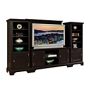 Home Styles Bedford 4-piece Entertainment Center - Ebony