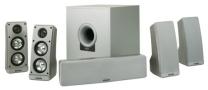 KLH Plat-6 6-Piece Surround Speaker System with 100-Watt Subwoofer