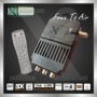 Strong FTA Dvb-s Mini Digital Satellite Receiver with Sticker Can Be Stick on Tv