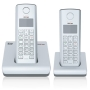 Verizon V100-2 DECT 6.0 Cordless Phone with Five Handset Capabilities (Silver)