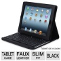 Adesso Compagno3 Bluetooth Scissor-Switch Keyboard with Carrying Case for iPad 2 and iPad 3 (WKB-100