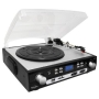 Inovalley Retro 05 USB Digital Turntable & Cassette Player - Encodes to MP3 / WMA Format