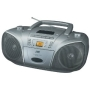 JVC Portable CD System with AM/FM Radio and Cassette