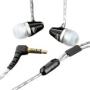 MEElectronics M2 à isolation sonore Ecouteurs intra-auriculaires de couleur NOIR