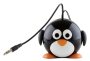 Kitsound Mini Buddy Penguin Speaker for iPod, iPad 2/3, iPhone 3G/3GS/4/4S/5 and Android Devices