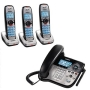 UnidenDect 6.0 Corded/Cordless Phone w/ 3 Handsets