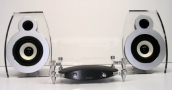 Lars & Ivan BOBO-BK21 2.0 Stereo Speaker System with A 20W Digital Amplifier for iPOD & MP3