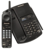 Panasonic KX-TC1711B 900MHz Cordless Phone (Black)