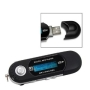 Micropix- Black 4GB MP3 MUSIC PLAYER WITH LCD SCREEN FM RADIO AND VOICE RECORDER