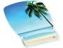 3M Designer Gel Mouse Pad with Wrist Rest, Beach Design