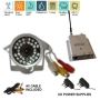 "30 LED DAY & NIGHT VISION WIRELESS CCTV SECURITY COLOUR CAMERA WITH AUDIO, 380 TVL 1/3"" SHARP CMOS Sensor with RECEIVER Internal & External Use Weath"
