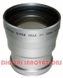 3X TELEPHOTO LENS FOR PANASONIC DMC-FZ20 FZ15 FZ10 NEW