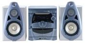 JBL Soundgear 3030 - Mini system - radio / 3xCD / dual cassette - gray