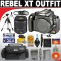 Canon Digital Rebel XT 8MP Digital SLR Camera (Body Only - Black) + Canon EF 28-90mm F/4-5.6 III SLR... Digital Camera