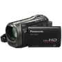 Panasonic TM55 Full HD Camcorder With 8GB Inbuilt Flash, X35 Intelligent Zoom, X25 Optical Zoom, Wide Angle Lens, iA + Face Recognition - Black