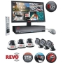 Revo 8 Channel Video Security System with DVR and 6 Night Vision Security Cameras