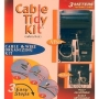 Cable Tidy 3 Metres in Length Grey cable