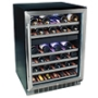 EdgeStar 46 Bottle Built-In Dual Zone Wine Cooler