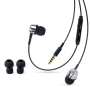 Merkury Innovations MI-IPH110 In Ear Headphones with Mic for iPhone (Black)