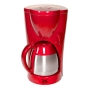 Kalorik Red 8 Cup Coffee Maker with Thermoflask Jar
