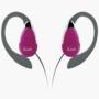 iLuv I201PINK Lightweight Ear Clip Headphone (Pink)