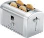 Princess Classic 4-Slice Toaster Silver