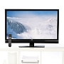 "JVC 37"" LED-Backlit 1080p HDTV with Xinema Sound"