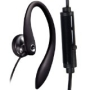 One Good Earbud - Flexible Earhook Stereo-to-mono Headphone for the Left Ear with Microphone