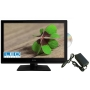"Dyon Delta 24"" FULL HD LED LCD Digital TV with Built in HD Satellite reciever & DVD Multi Voltage version for us on 12v, 24v & 230v"