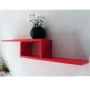 ZIGZAG - Wall Storage / Display Shelf - Red
