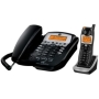 GE 5.8GHz Corded Phone System w/ Cordless Handset, Digital Answering System