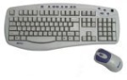 Wireless Desktop Keyboard and Mouse (Keyboard - Wireless - Mouse)