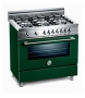 "X366GGVVI Bertazzoni 36"" Pro Series Gas Range with 6 Burners - Burgundy"
