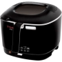 T-fal FF1228 Compact 1200-Watt Family Capacity 1.8-Liter Multiple Temperature Deep Fryer, 2.2-Pound, Black