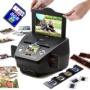 SVP PS9700 Black(with 8GB)3-in-1 Digital Photo/Negative Films/Slides Scanner with built-in 2.4 LCD Screen""