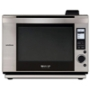 Sharp SuperSteam AX-1200S - Microwave oven - freestanding - 31.1 litres - 700 W - stainless steel/black