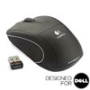 V450 NANO Cordless Laser Mouse - Jet Black - Designed for Dell