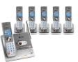 AT&T SL82658 DECT 6.0 Expandable Cordless Phone with Digital Answering System - 1 Base, 5 chargers, 6 Handsets