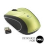 V450 NANO Cordless Laser Mouse - Spring Green - Designed for Dell
