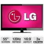 LG 47LV4400 47 Class LED HDTV - 1080p 1920 x 1080 16:9 120Hz 100000:1 6 ms HDMI USB Energy Star Refurbished
