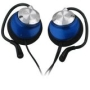 Sony Electronics MDR-Q23 3.5mm Clip-On Audio Headphones - Blue