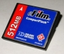 512 MB eFilm CompactFlash Card