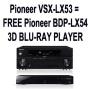 PIONEER VSXLX53 HOME CINEMA RECEIVER WITH INTERNET RADIO