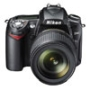 D90 12.3 MP Digital SLR Camera with AF-S DX NIKKOR 18-105mm f/3.5-5.6G ED VR Zoom Lens - MSRP $1299.99